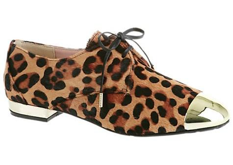 Ted Baker Leopard Print Broguea