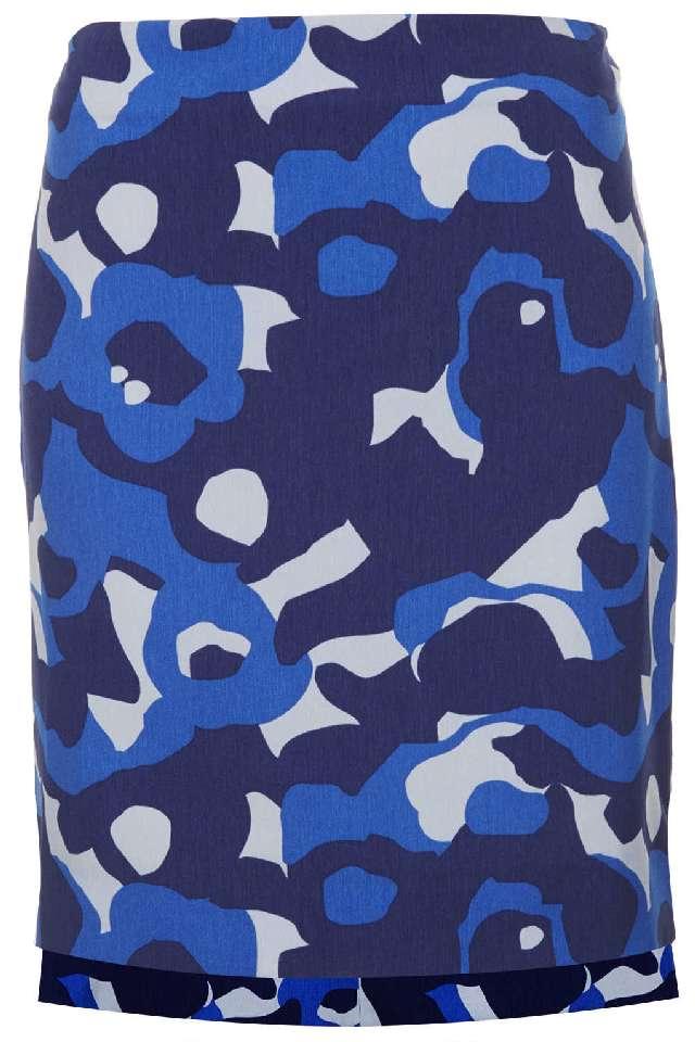 Topshop Camo Skirt