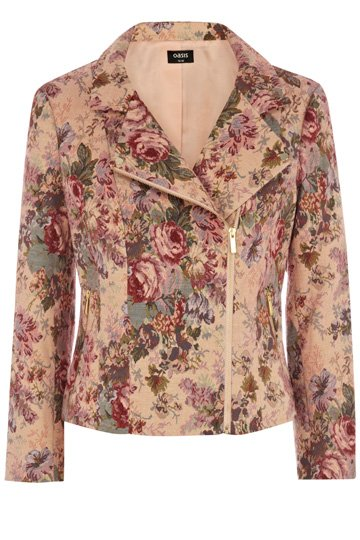 Fab Women's Finds - Floral Biker