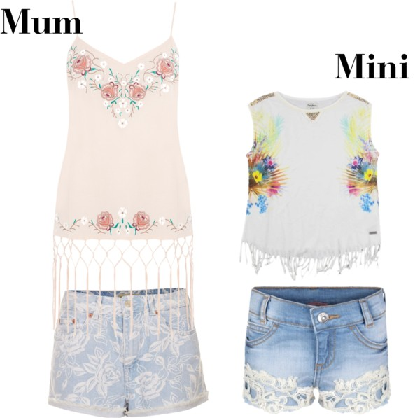 mum and mini boho