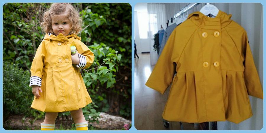 blog alioli yellow girls rainjacket