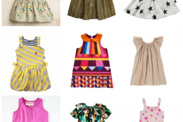 Blog dresses collage