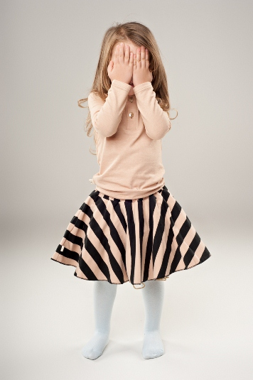 Stripped skirt 5 6y