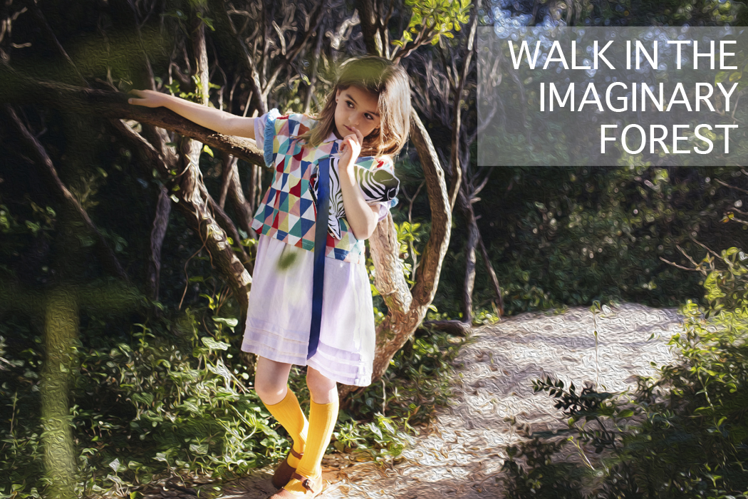 A Walk In The Imaginary Forest An Editorial By Nadia Stone
