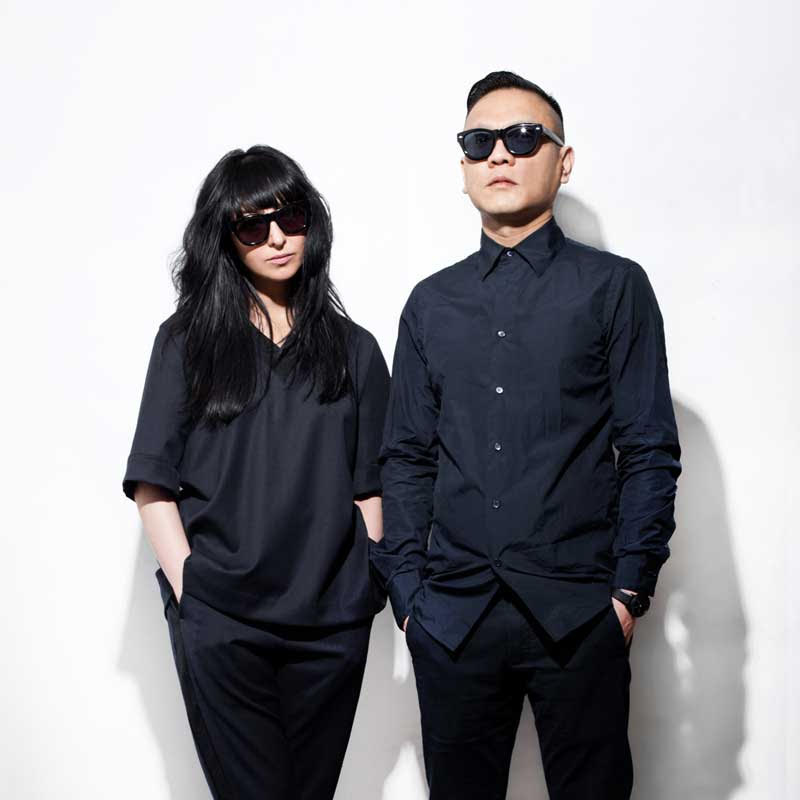 Shiva Shabani and Calvin Yu of Sons + Daughters