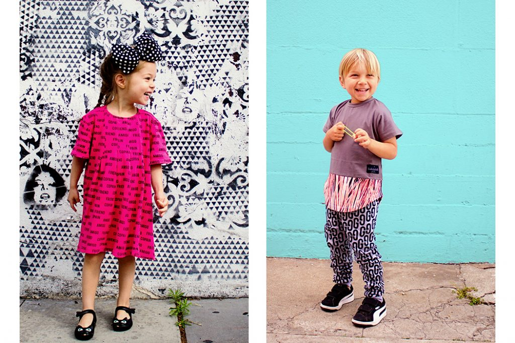 two kids ruth look book