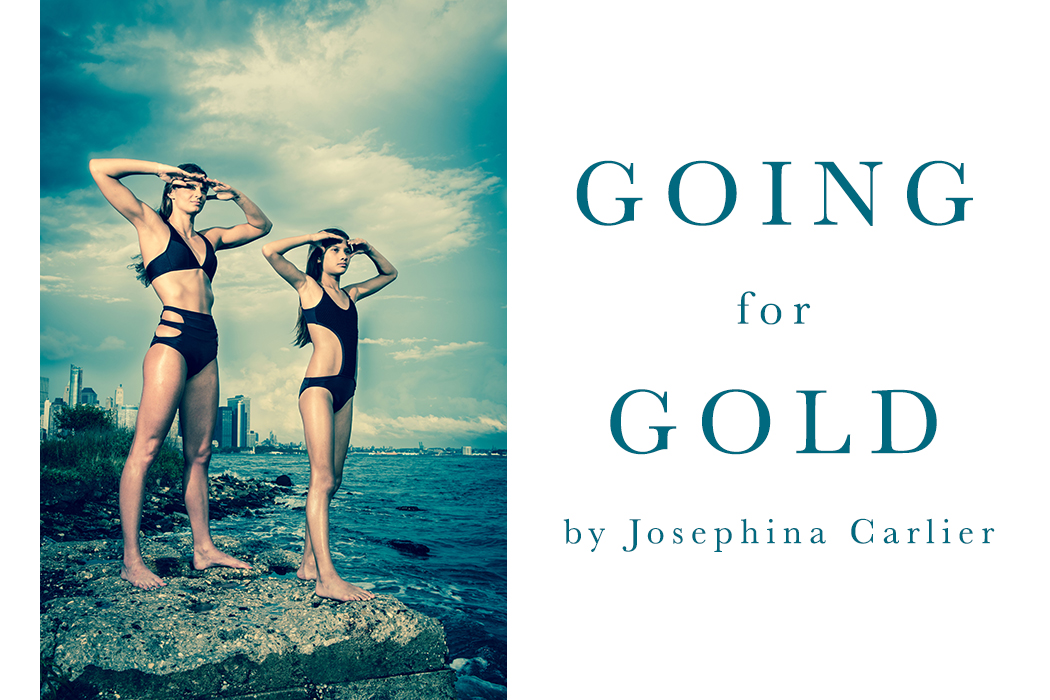 Going for Gold Olympics Post Josephina Carlier