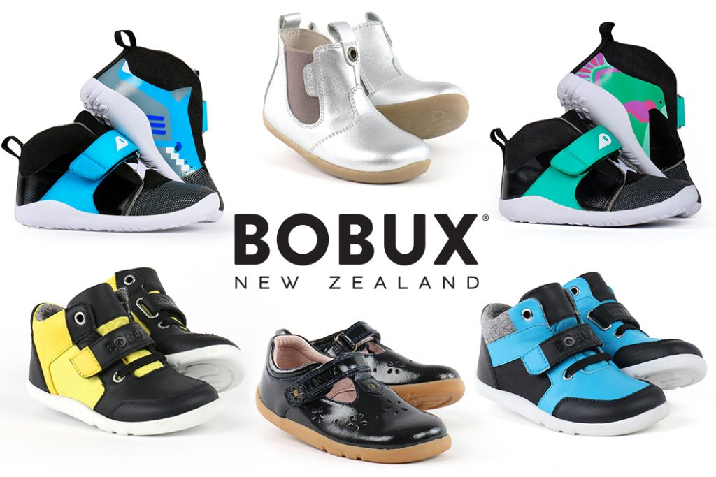 Win 1 of 4 Pairs of Bobux Shoes for your Little One