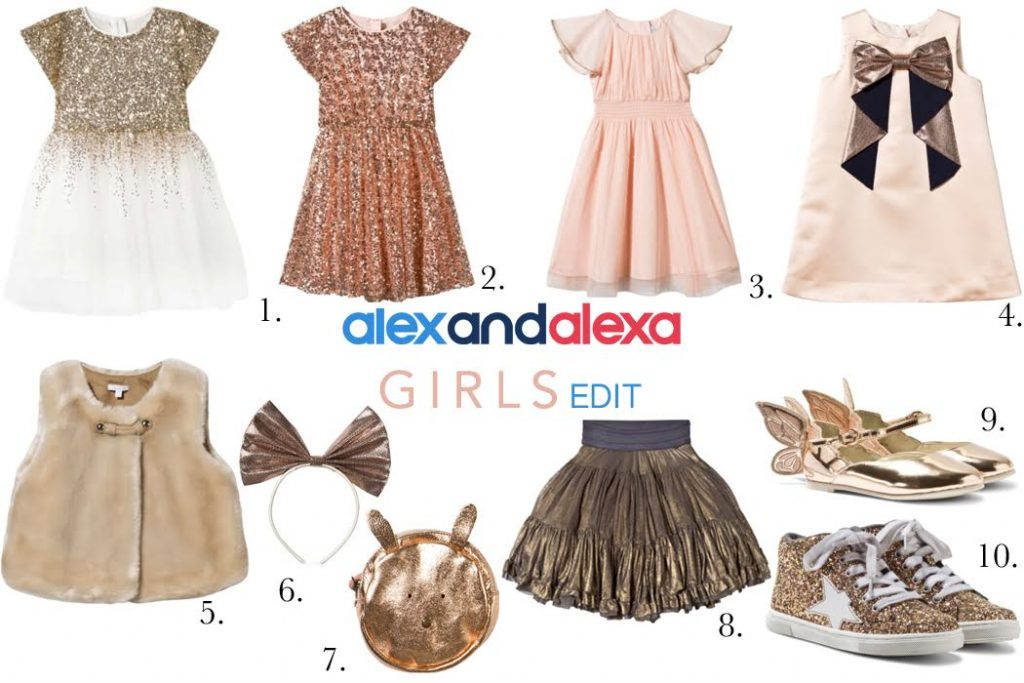 Christmas Party Edit for Girls from Alex and Alexa