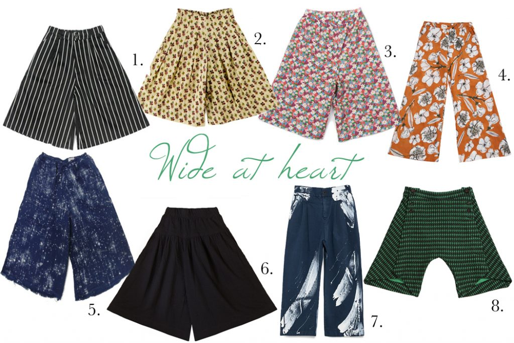 Wide at Heart Culotte Edit