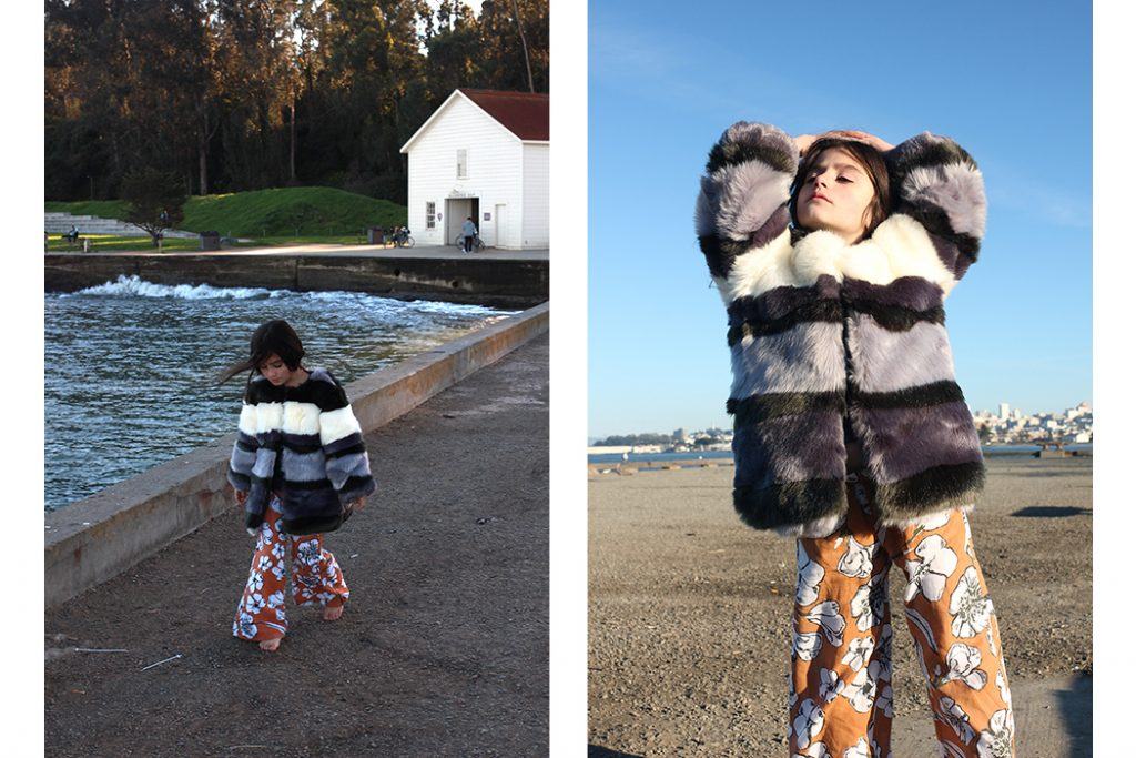 Blossom Kind - A Local Point of View featuring Feather drum trousers from Mome Kids