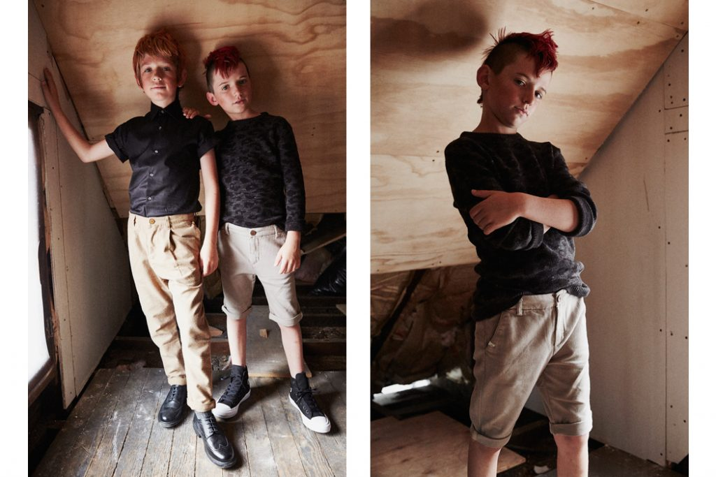 Junior Style: Hooligans Editorial Max and Zeke by Amber McKee