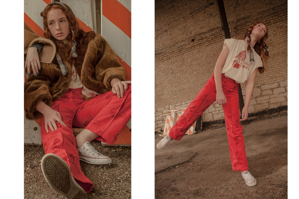 Junior Style blog: The Invisible Friend by Li Nana and editorial from Hooligans Magazine