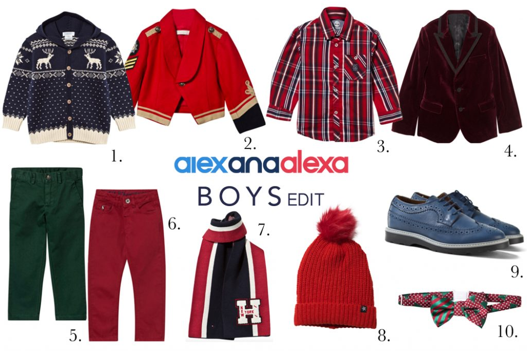Inspiration for your Little Dudes Christmas Outfit