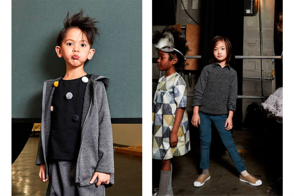 Junior Stye Blog: Petite Parade Collaborate with Children's Club Trade shows in their latest runway kids fashion show
