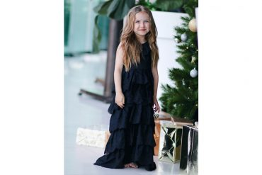 Junior Style Blog: Harlow from The Daddy Fashion Stylist wears Infantium Victoria