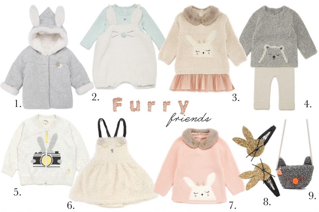 Junior Style Kids Fashion Blog: Korean brand edit - Furry Friends by Sylvia Yim from Momekids