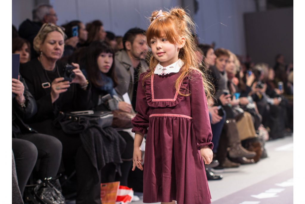 Junior Style blog presents images from Emily Kornya taken from the Pitti Bimbo Fashion show.