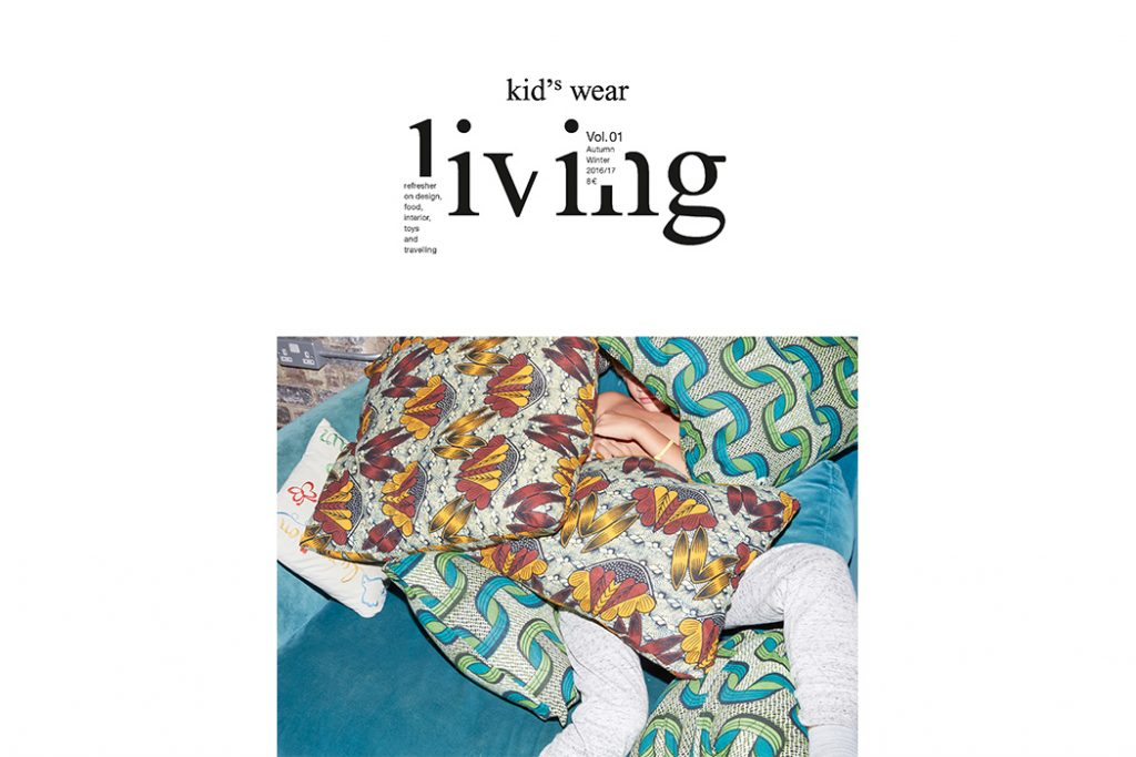 kid's wear Launches New Lifestyle Magazine kid's wear Living