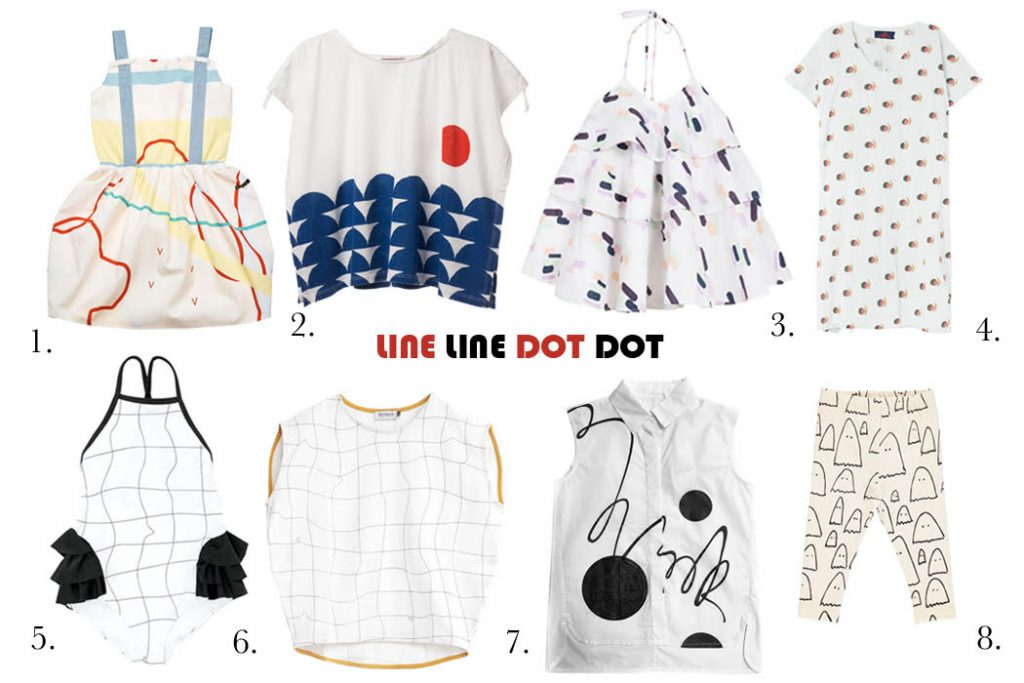 SS17 line and dot edit on the Junior Style London blog