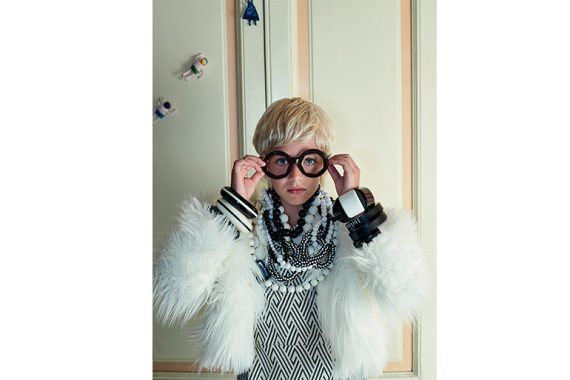 Channeling the brilliance of Iris Apfel for Style Piccoli