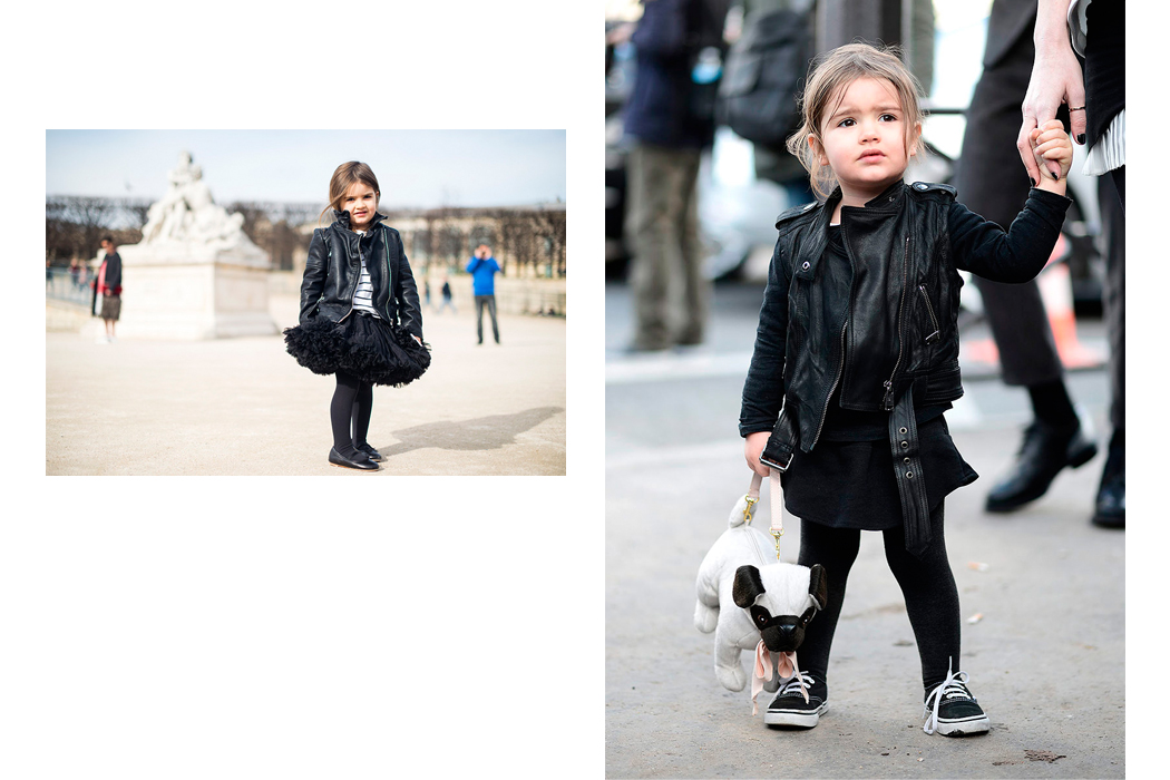 Mum And Mini Style Paris Fashion Week Street Style From Edgy Cuts Junior Style