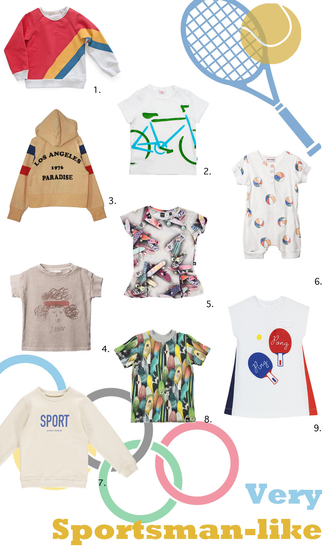 The very best in sport chic for SS17 in an all new Fab Finds now on the Jr Style London blog