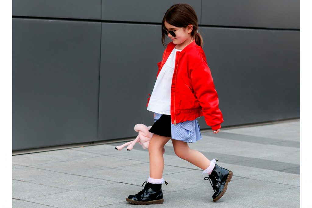 Junior Style Blog - Little Miss Kira and Veneta from Edgycuts contribute a post called Flamingo Wlking #mumandmini #kidsfashion #fashionphotography.