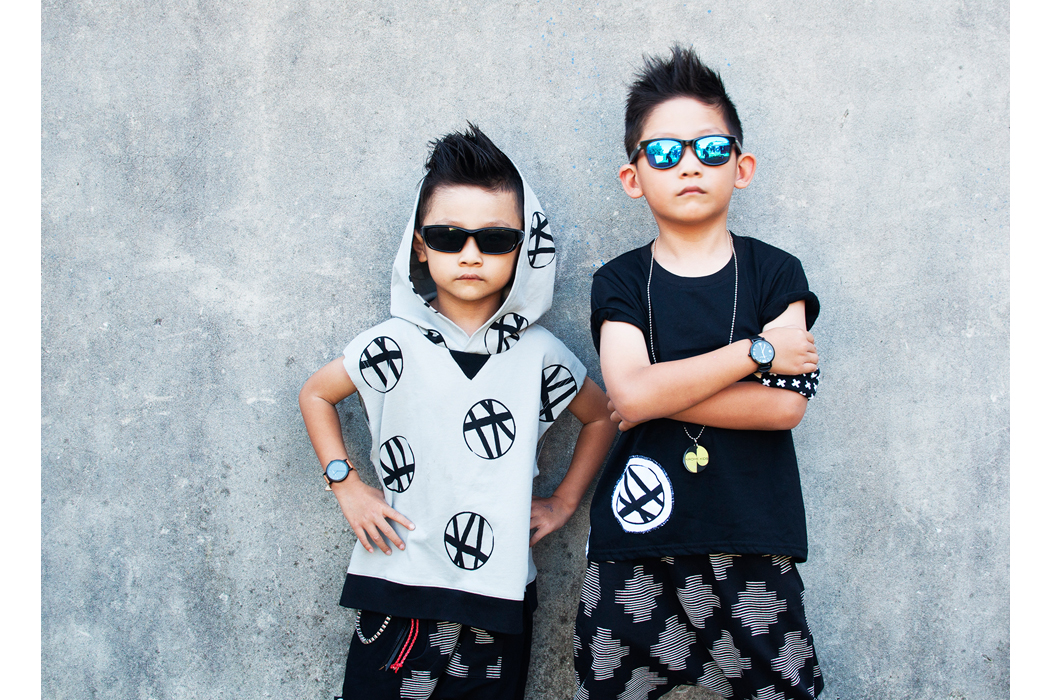 Junior Style Blog - Ethan and Evan feature Mayaya Kids #kidsfashion #boysfashion #boysstyle #unisex