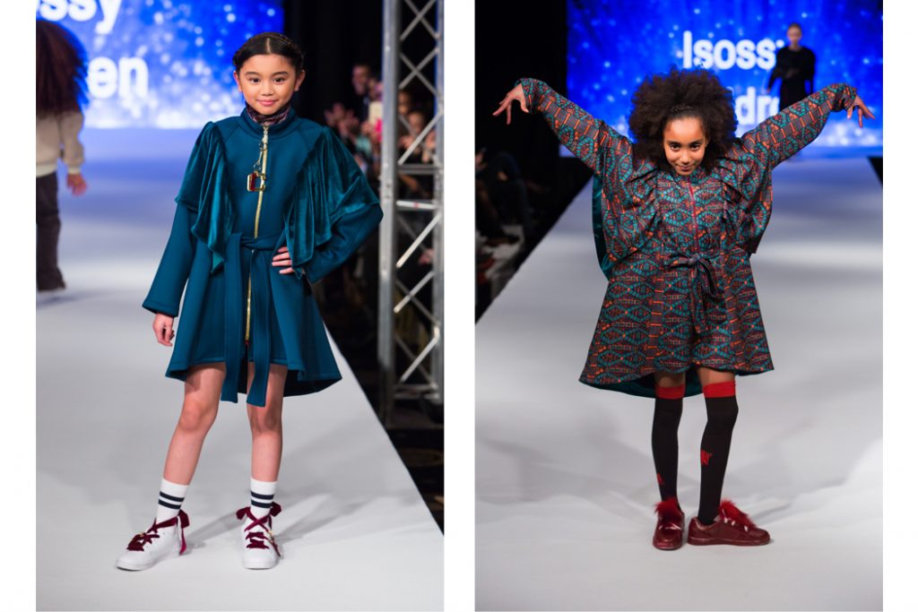 Looks Like Me Hits The Runway Representing Isossy Children Junior Style