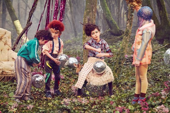 Get your disco party on with Coco Amardeil's new editorial for Hooligans magazine now on the Junior Style London blog