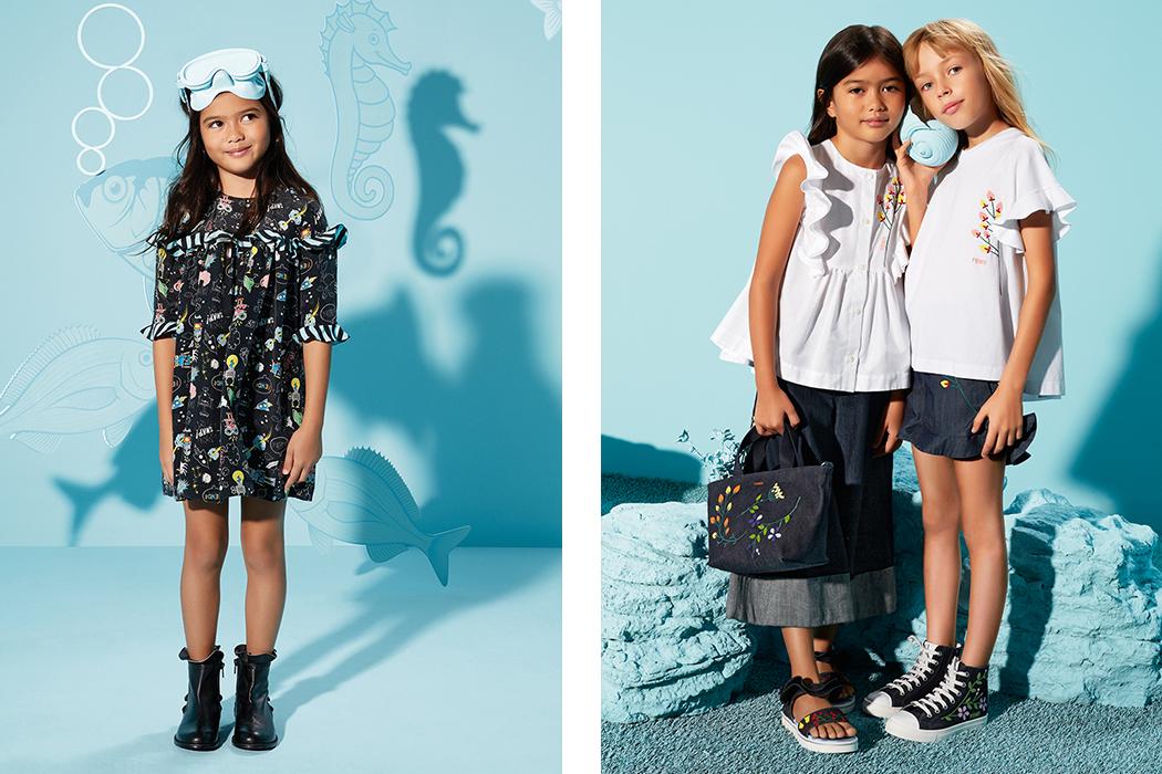 Fendi Kids SS17 on the Jr Style London blog