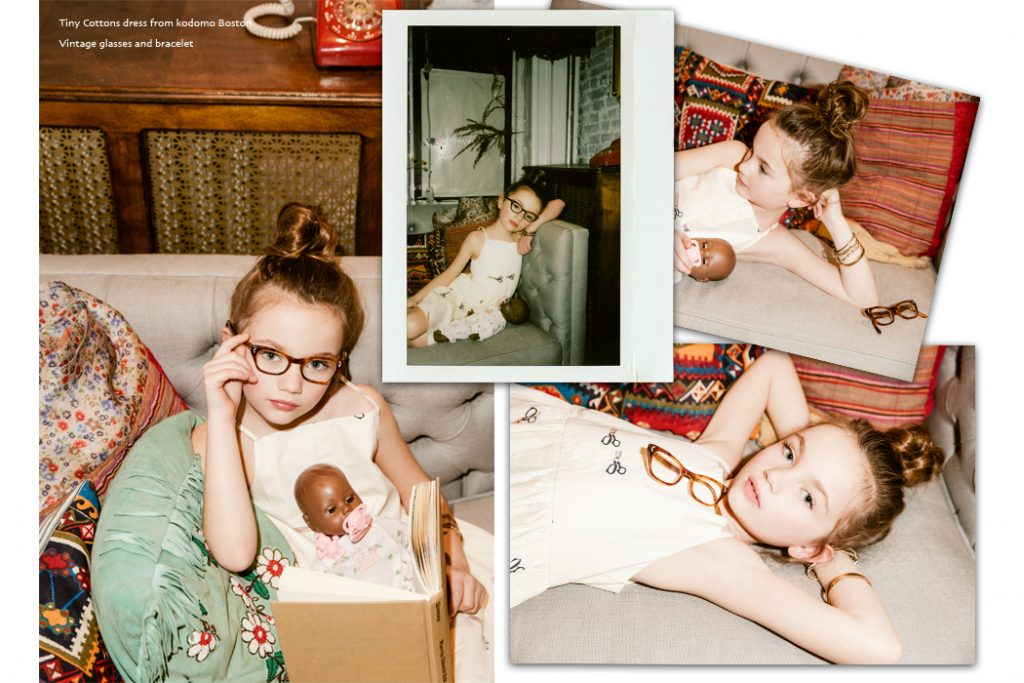 Junior Style kids fashion blog - Editorial Little Mama. #editorial #kidsfashion #kidsfashionphotography #megstacker #jillrothstein #cabbagesandkings #wolfandrita #tinycottons #jumona #bobochoses