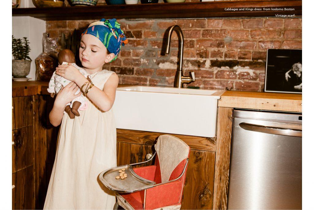 Junior Style kids fashion blog - Editorial Little Mama. #editorial #kidsfashion #kidsfashionphotography #megstacker #jillrothstein #cabbagesandkings #wolfandrita #tinycottons #jumona #bobochoses