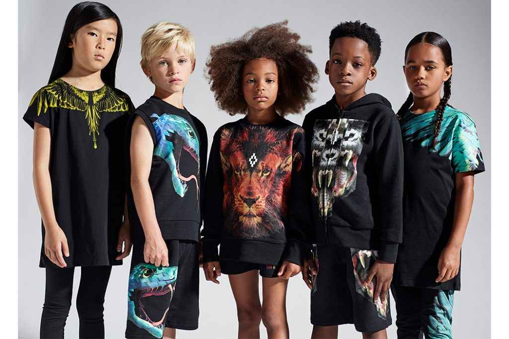 Upbeat tribal vibes for Kids of Milan SS17