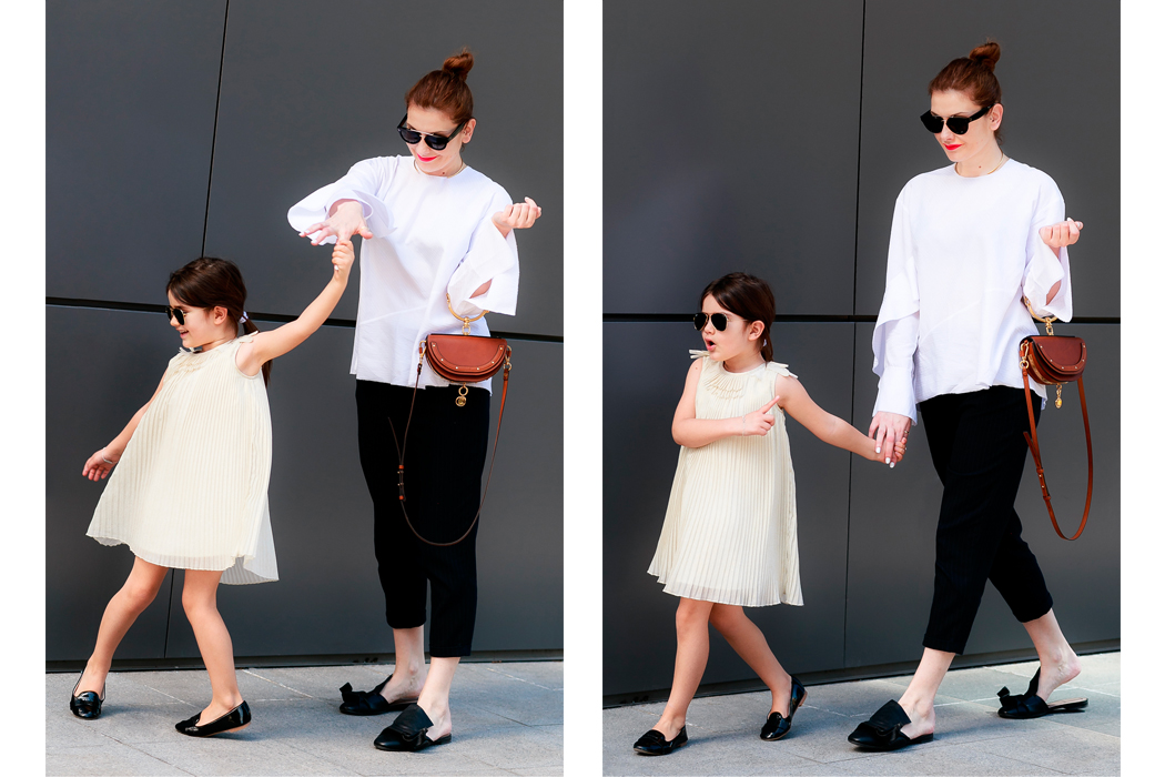 Junior Style Mum and Mini Style Chloe for Less by Edgycuts #kidsfashion #mumandmini #chloe #kidsfashionblogger