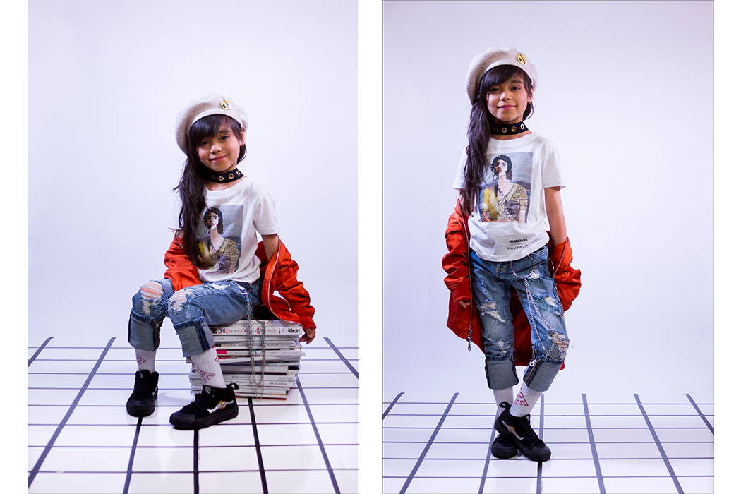 Junior Style London Kids Fashion Blog Dear Giana Collaboration with Haus of Jr #kidsfashion #hausofjr #deargiana