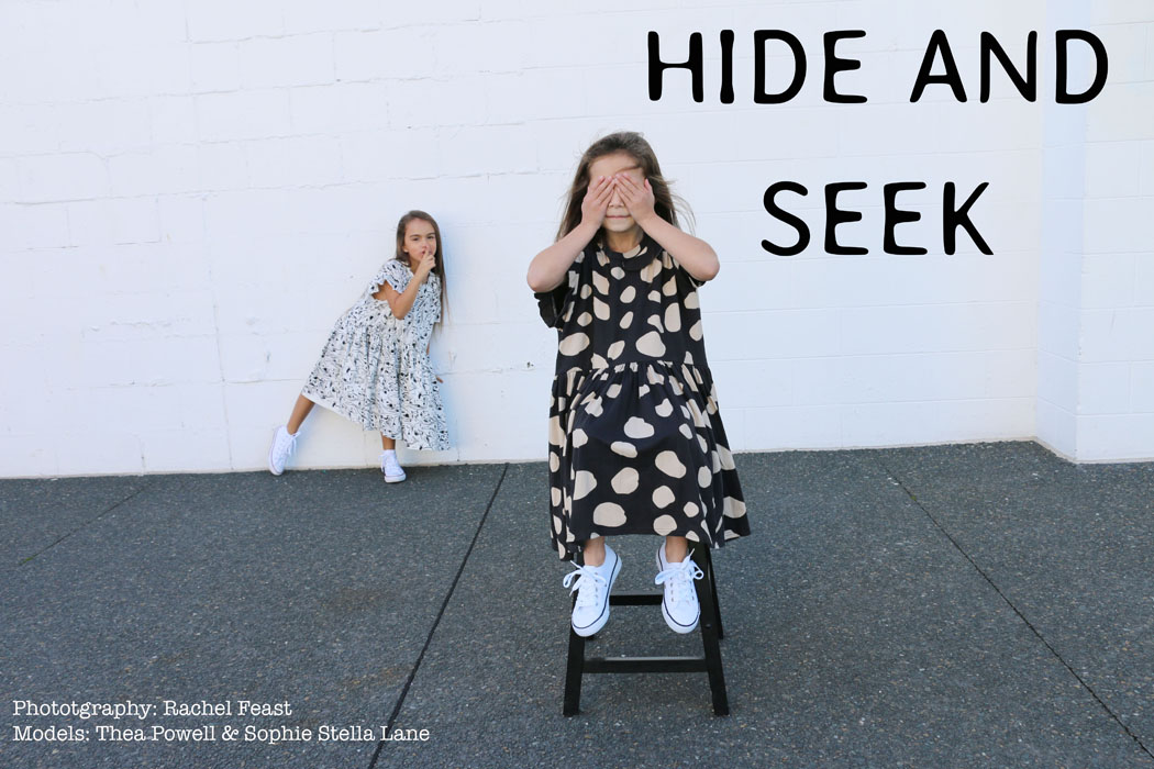 Junior Style Kid's Fashion Blog - Hide and See, a New Editorial by Photographer and Stylist Rachel Feast #kidsfashionblog #devonsdrawer #zrbraicansee #organickidsfashion#calibeth #minouhce #kidsfashion #kidsstyle #shopsmall