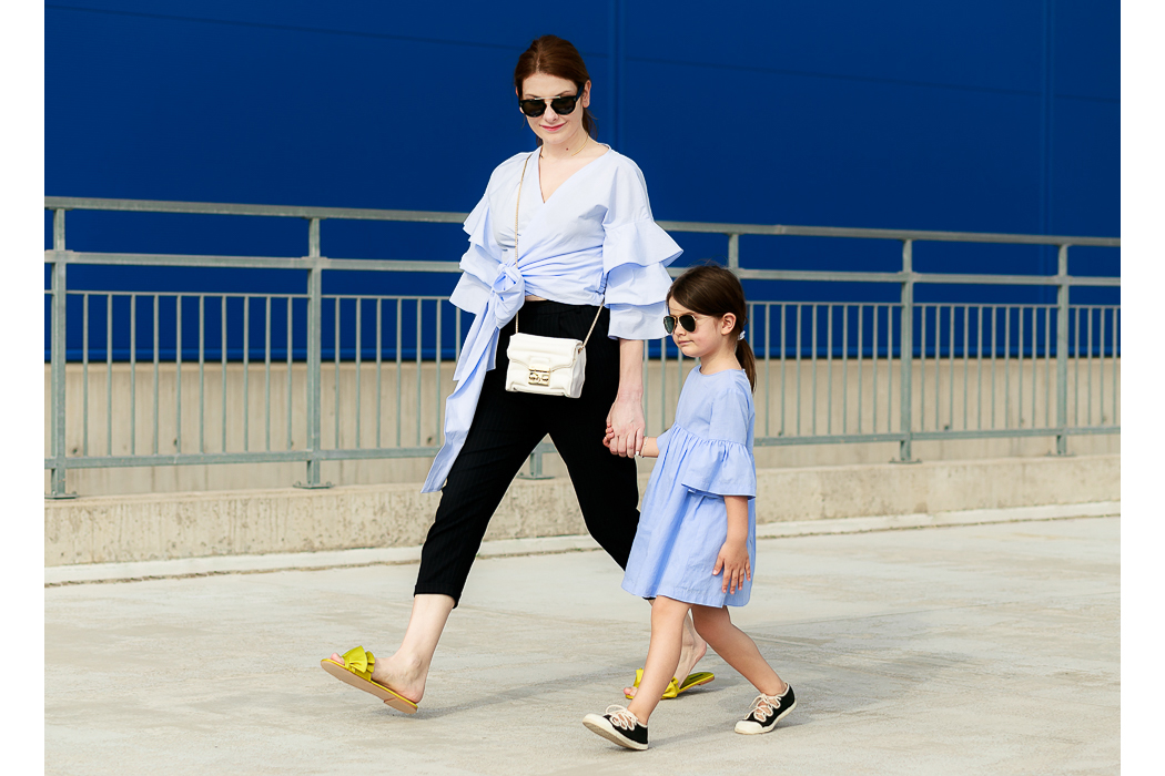 Junior Style Kids Fashion Blog New Post by Edgycuts- Springtime Blues #misskaira #kidsfashionblogger #furla #accessories #zara #celinesunglasses #edgycuts #kidsfashion #ministyle