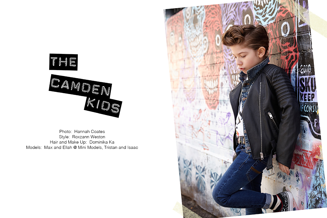 Junior Style - The Camden Kids Editorial - By Hannah Coates #hannahcoates #kidsfashion #kidsfashioneditorial #editorial #kidsfashionphotograohy #thecamdenkids #childrenswear #coolkids #kidswear #jrstyleeditorial