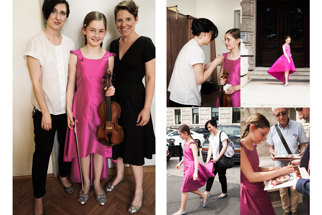 Junior Style Alma Deutscher Life Celebration Concert in Vienna- Alma wears The Small Gatsby #thesmallgatsby #almaDeutscher #luxurykids #luxurykidswear #designer