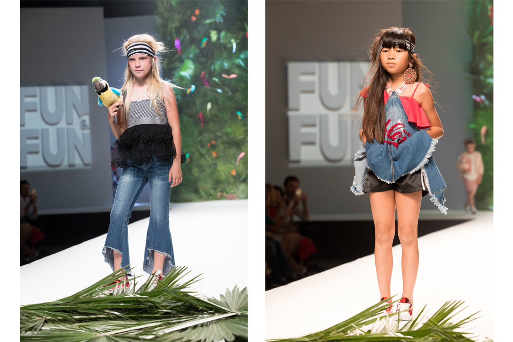 Junior Style Pitti Bimbo Fashion Shows - Fun & Fun and She.Ver #kidsfashion #juniorstyle #pittibimbo #piitiimmagine #funanffun #shever #runway #fashionshow