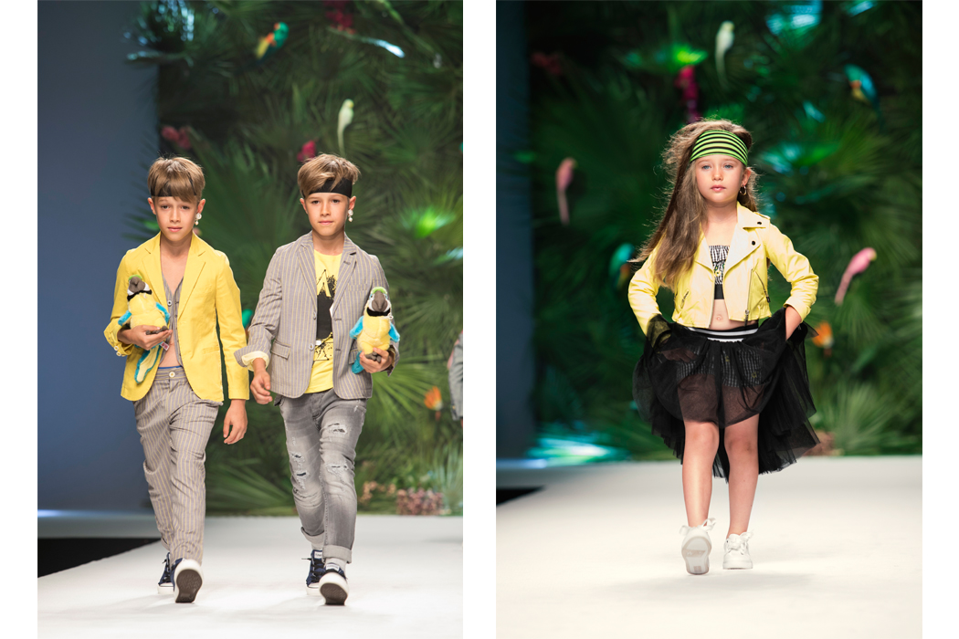 Junior Style Pitti Bimbo Fashion Shows - Fun & Fun and She.Ver #kidsfashion #juniorstyle #pittibimbo #piitiimmagine #funandfun #shever #runway #fashionshow