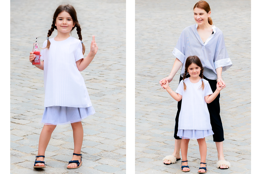 Junior Style Kids Fashion Blog Easy Breezy by Veneta and Miss Kaira from Edgycuts #edgycuts #kidsfashion #mumandmini #momandministyle #twinning