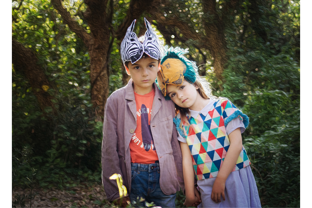 Junior Style An Editorial By Nadia Stone - A Walk in the Imaginary Forest #nadiastoc=ne #editorial #kidsfashion#kidswear #imaginaryforest