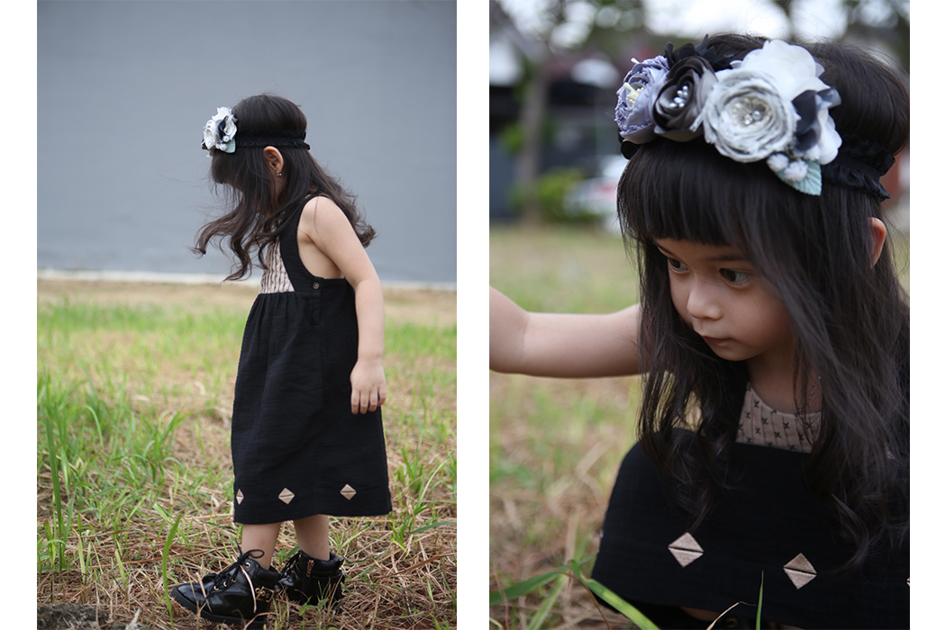 Junior Style Editorial - Guest Post By Ixora and Ayuko Eid Celebration Outfit from Oaks of Acorn #oaksofacorn #girlswear #eidoutfit €instagraminfluencer #juniorstyle #kidsfashion #kidswear #kidstyle