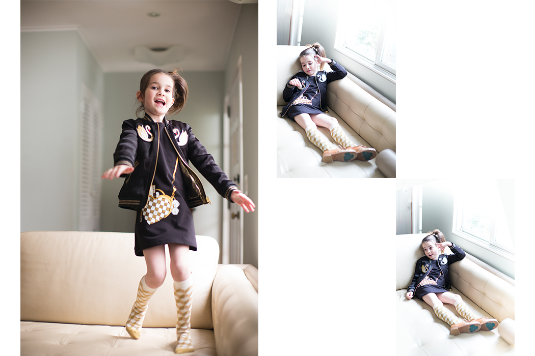 Junior Style Kids Fashion Blog - Swan Song Editorial by Little Miss Sophies Closet #kidsfashion #editorial #stellamccartney #littlemarcjacobs #swans #aw17 #kidsstyle #juniorstyle #juniorstylelondon #lolkidsarmonk #littleragsandriches #designerkidsfashion #luxury