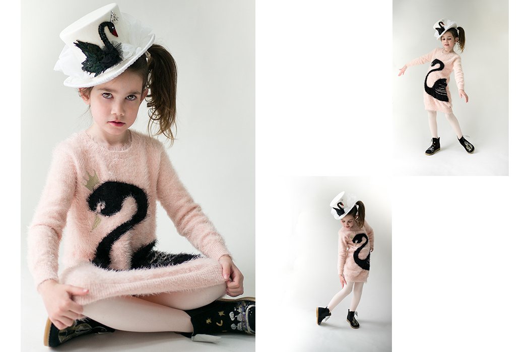 Junior Style Kids Fashion Blog - Swan Song Editorial by Little Miss Sophies Closet #kidsfashion #editorial #stellamccartney #littlemarcjacobs #swans #aw17 #kidsstyle #juniorstyle #juniorstylelondon #lolkidsarmonk #littleragsandriches #designerkidsfashion #luxury  #girlsfashion #girlsclothing #kidsapparel