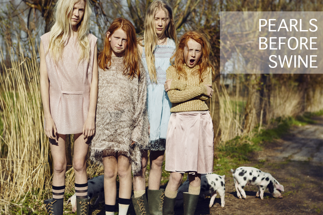 Pearls Before Swine An Editorial by Marijke de Gruyter