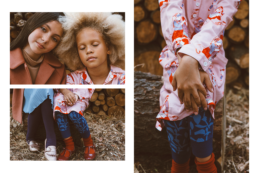 Junior Style Editorial Autumn Serenade by Khali MacIntyre and Veronica Alvericci #kidsfashioneditorial #kidswear #milkandbiscuits #littlepushkin #nike #autumnserenade #juniorstyle #juniorfashion #aw17 #autumncolours #khalimacintyre